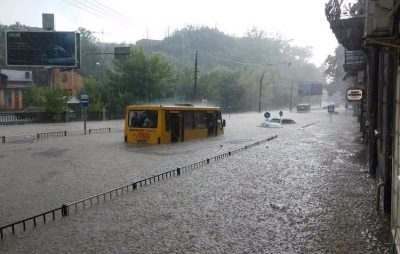 Львів затопило