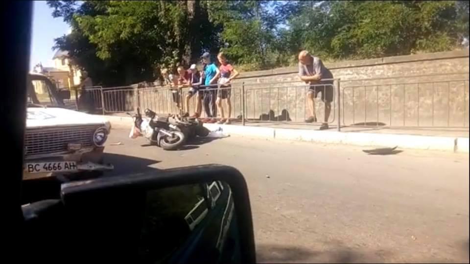 У Червонограді сталась аварія