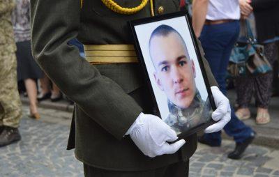На Львівщині прощаються із загиблим Героєм Мар'яном Найдою
