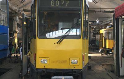У Львові показали німецький трамвай