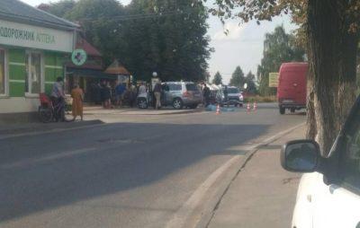 У Раві-Руській автомобіль вбив жінку