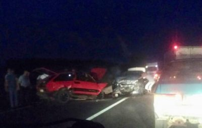 """На трасі """"Львів - Шегині"""" не розминулись три автомобілі"""