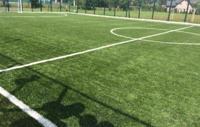 На Турківщині відкрили спортивний майданчик зі штучним покриттям
