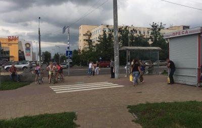 У Львові велосипедист збив дитину