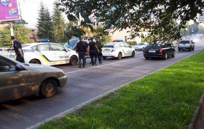 Як у Львові не розминулись поліцейські