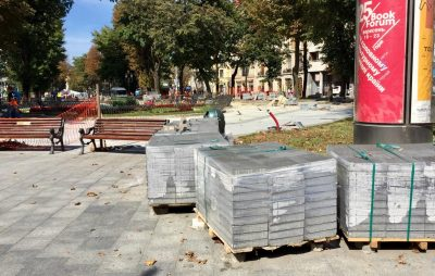 До кінця листопада цього року відремонтують алею на пр. Свободи, фото Кенцало Юра, 4studio