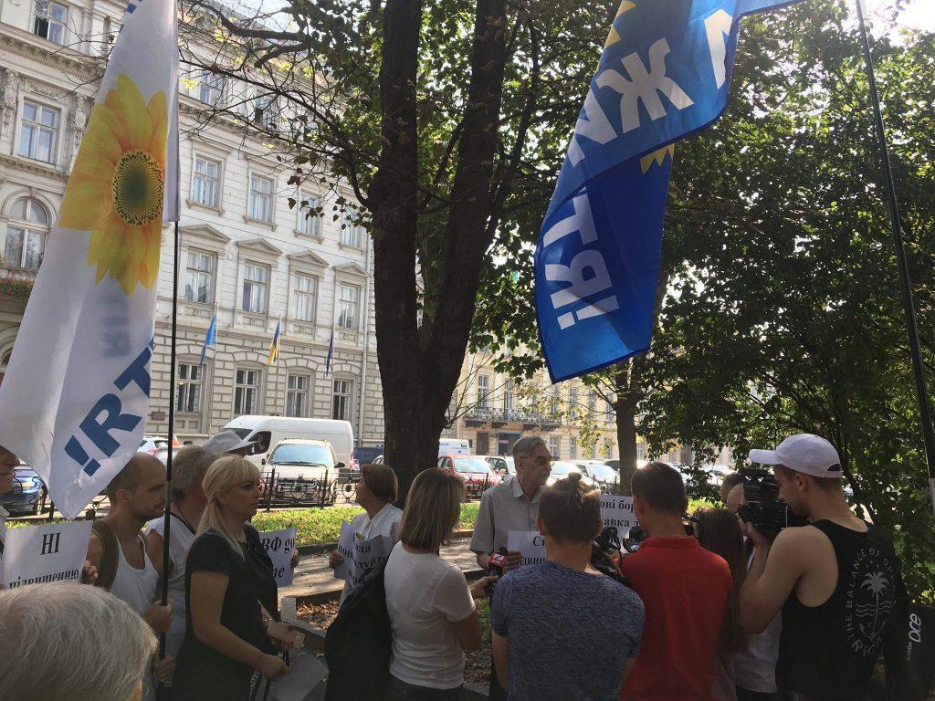 У Львові розігнали сепаратистів