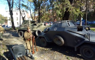 У парку «На валах» відбудеться театралізований «Бій відділів УПА проти військ НКВД»