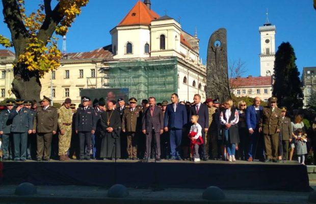 У межах відзначення Дня Захисника України відбулася урочиста посвята в ліцеїсти. Фото прес-служба ЛОДА