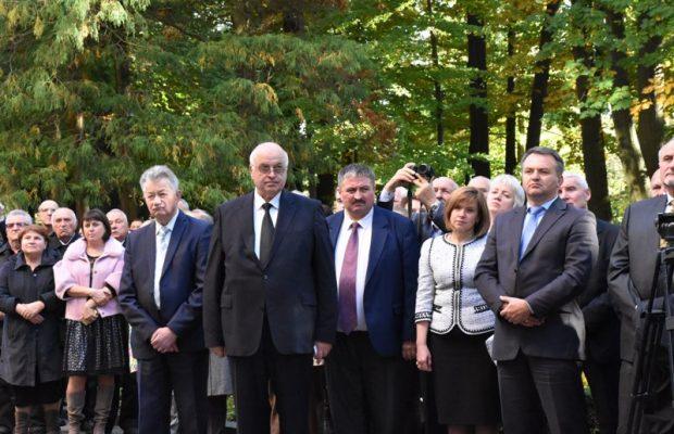 У Національному лісотехнічному університеті відкрили меморіальну дошку Митрополиту Андрею Шетицькому