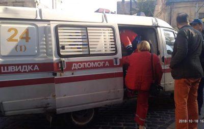 У центрі Львова у студента сталась епілепсія