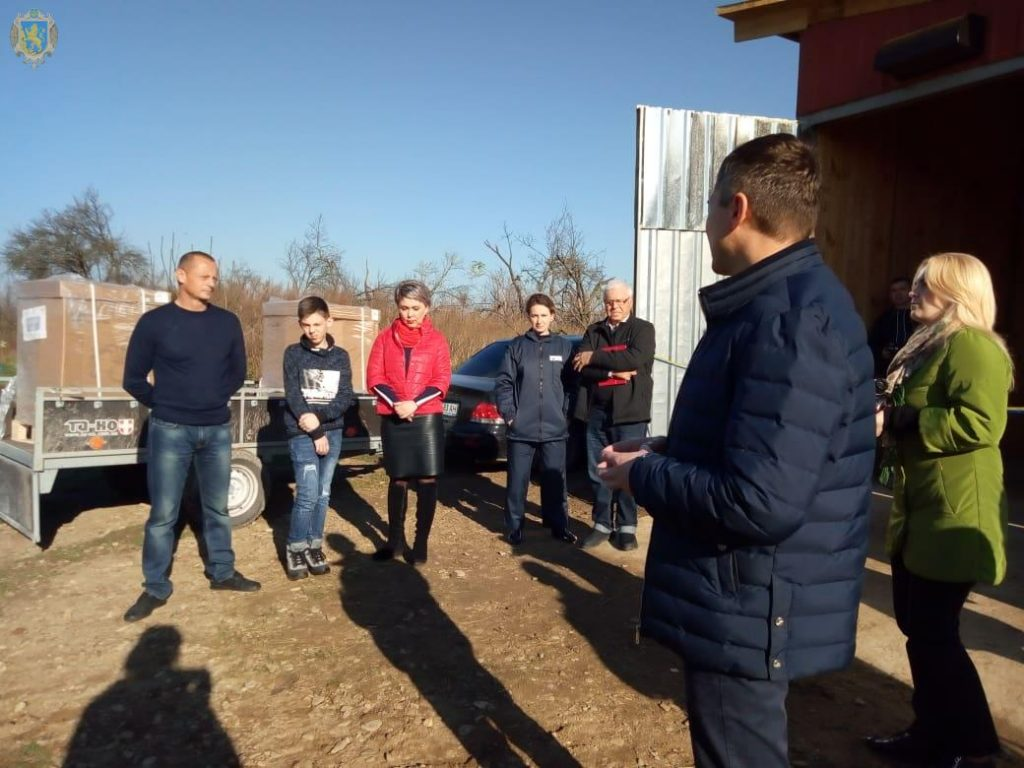 На Самбірщині відкрили сімейну молочну ферму