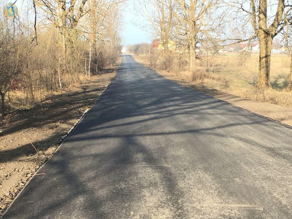 Завершено ремонтні роботи окремих ділянок дороги Ричагів — Мала Горожанка — Вербіж