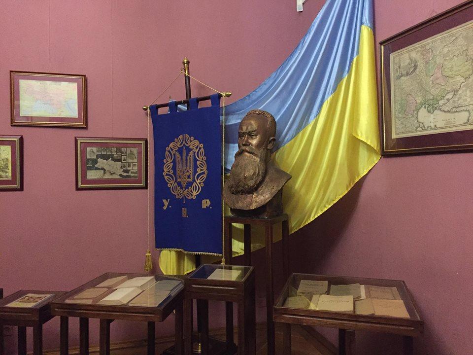 Державний меморіальний музей Грушевського у Львові.