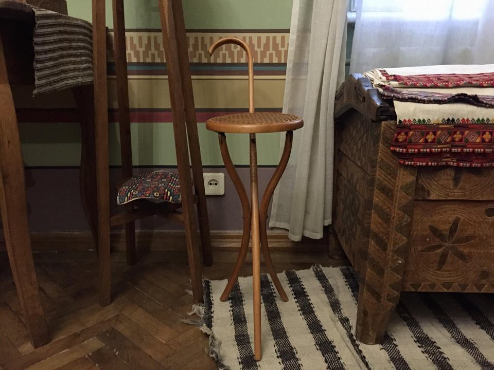 Державний меморіальний музей Грушевського у Львові. Гуцульська кімната