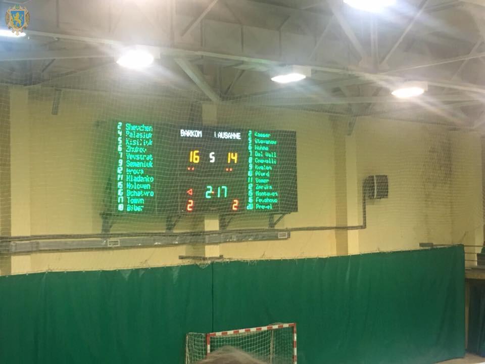Львівські «Барком-Кажани» здобули перемогу над швейцарською «Лозанною» у Єврокубку