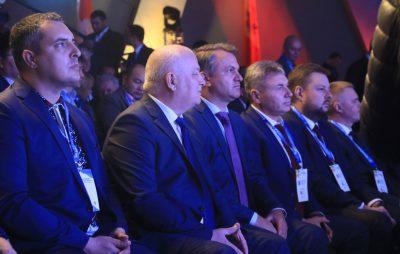 Степан Кубів на Міжнародному економічному форумі. Фото 4studio