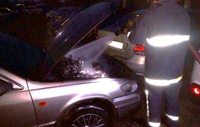 У Львові горіла «Toyota Camry». Фото з відкритих джерел