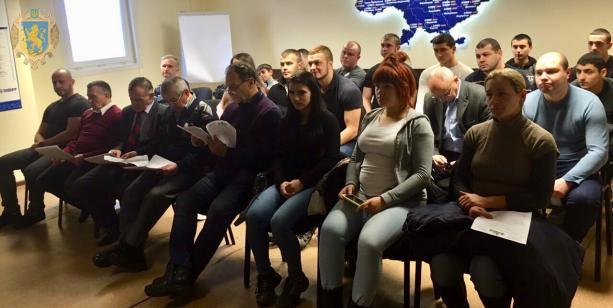 За підсумками 2018 року нагородили найкращих важкоатлетів Львівщини. Фото: прес-служба ЛОДА.