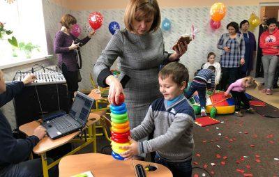 У Жовкві відкрили інклюзивно-ресурсний центр. Фото: прес-служба ЛОДА