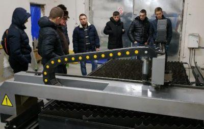 Учні та студенти Львівщини ознайомились із роботою промислових підприємств області. Фото: прес-служба ЛОДА.