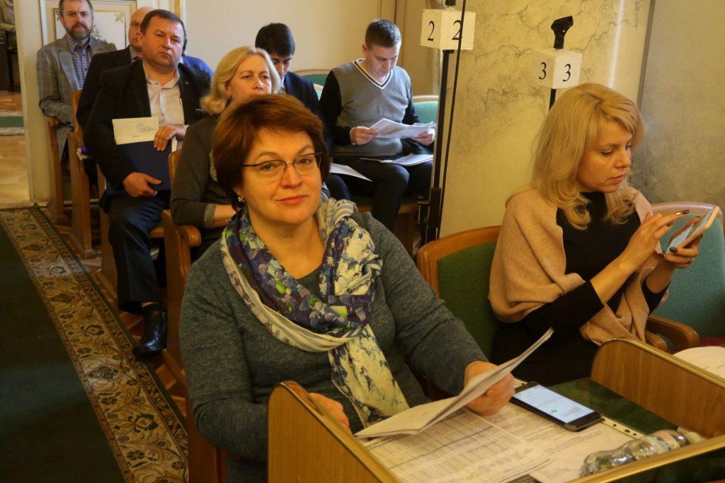 Директор департаменту ОЗ Ірина Микичак. Фото Назарій Юськів 4studio