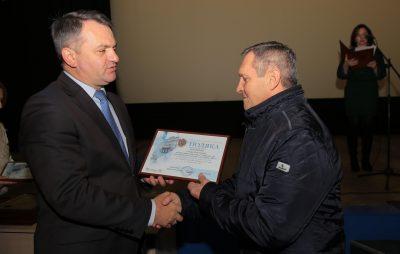 На Львівщині відзначили ліквідаторів наслідків Чорнобильської катастрофи