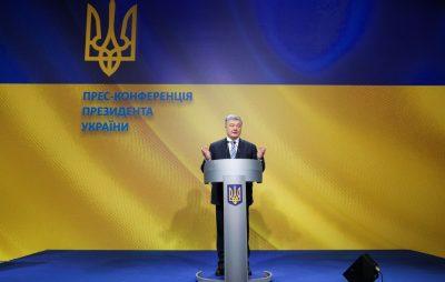 Порошенко: Автокефалія української церкви і здобуття Томосу є частиною нашої стратегії на остаточну деколонізацію України