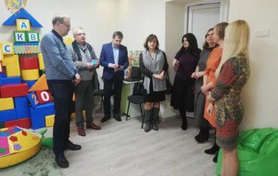 У Трускавці відкрили інклюзивно-ресурсний центр для дітей з інвалідністю. Фото: прес-служба ЛОДА.