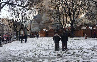 У центрі Львова стався вибух. Фото Юра Кенцало, 4studio