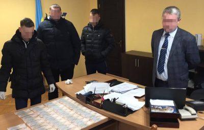З'явились подробиці затримання голови Сокальської РДА. Фото: СБУ у Львівській області.