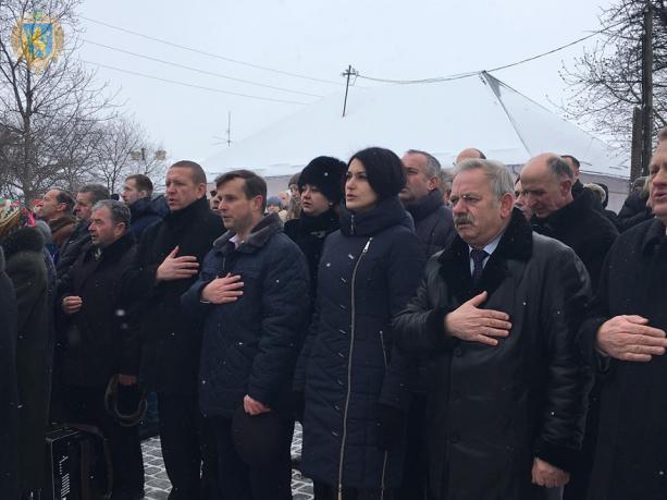 На Львівщині відзначили 106-ту річницю з дня народження Василя Кука. Фото: прес-служба ЛОДА.