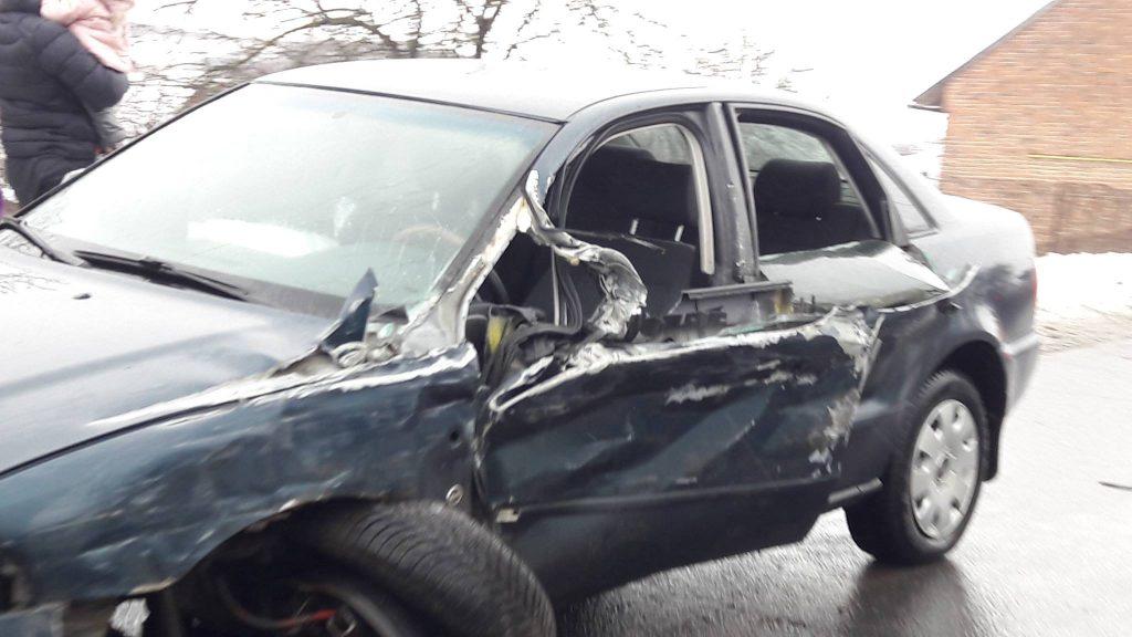 У Бібрці сталась жахлива аварія. Фото: Варта1