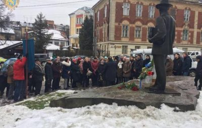 На Львівщині відбулись урочистості з нагоди відзначення 150-річчя Івана Труша. Фото: прес-служба ЛОДА.