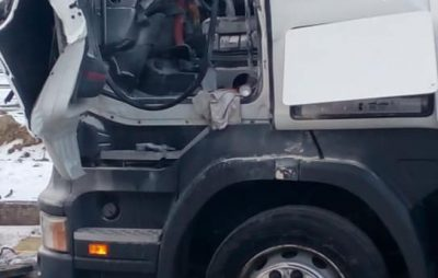 У пункті пропуску «Краковець», у вантажівці вибухнув газовий балон