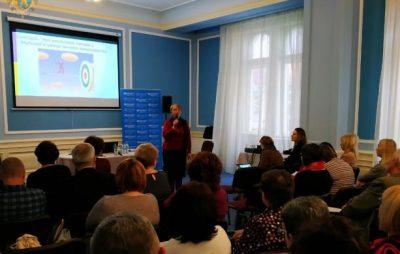 На Львівщині триває семінар з координації заходів у відповідь на спалах кору. Фото: прес-служба ЛОДА.