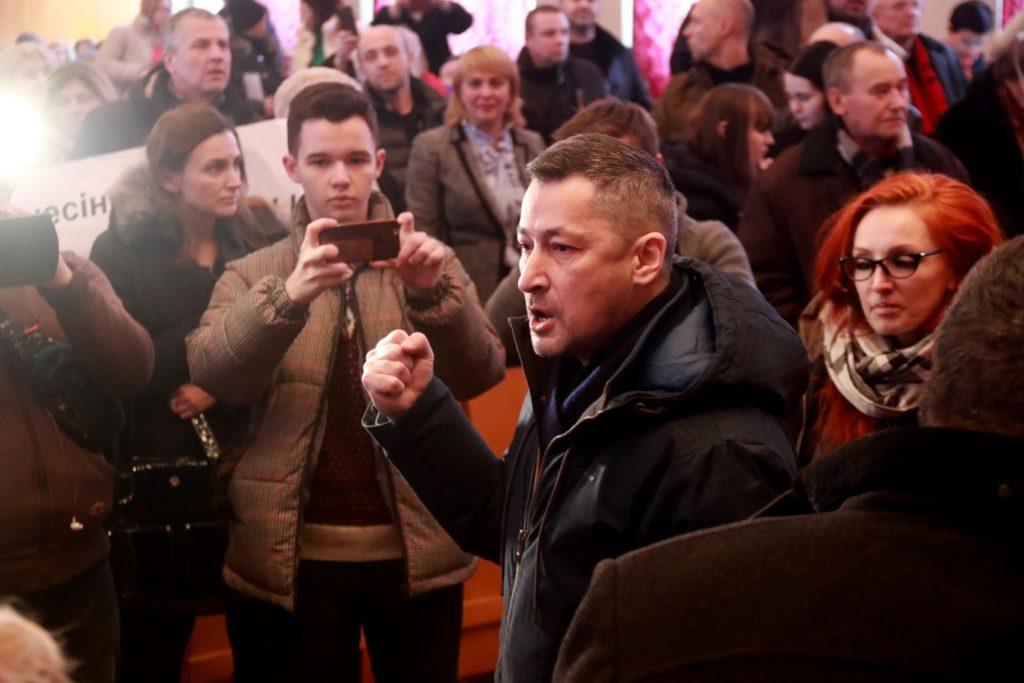 Громадське обговорення щодо будівництва сміттєпеперобного заводу на вулиці Пластовій у Львові. Фото 4studio