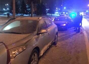 У Львові нетверезий водій вчинив аварію. Фото Варта-1