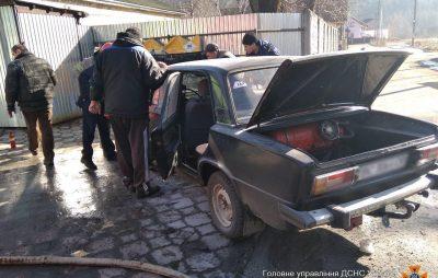 Упродовж минулої доби на Львівщині двічі горіли автівки