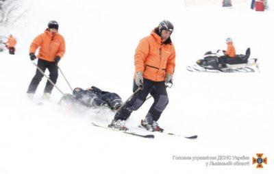 На Львівщині рятувальники надали допомогу туристу-лижнику