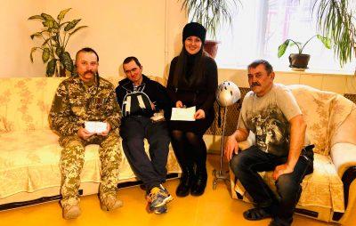 На потреби військових Софія Федина зібрала понад 86 тисяч гривень