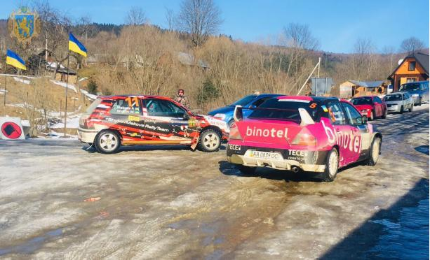 Спортсмени-автомобілісти України змагалися в авторалі «Зимові Вершини»