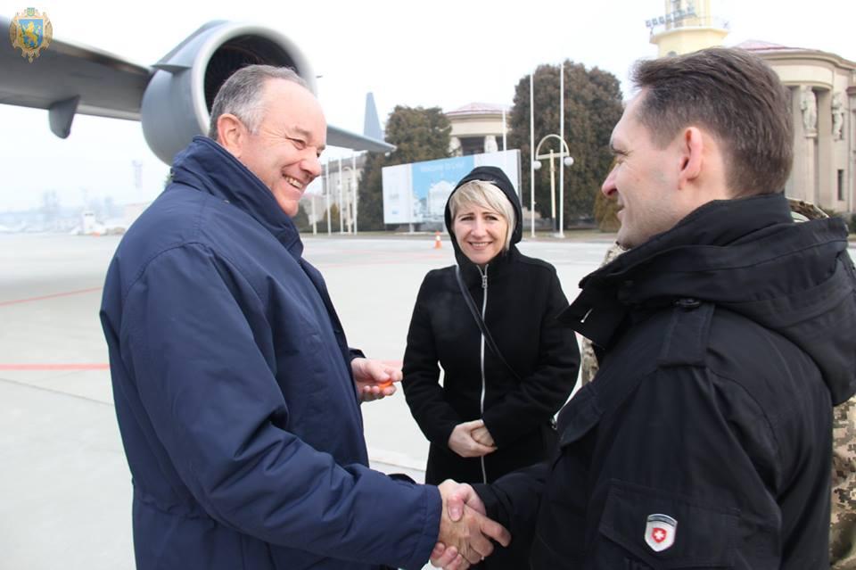 Генерали Збройних сил США ознайомились із роботою Міжнародного центру миротворчості та безпеки
