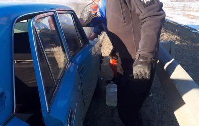 На Львівщині горів автомобіль. Фото Варта-1