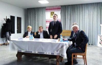 На Сокальщині розглянули Перспективний план розвитку села Волиця