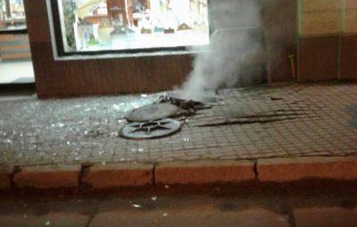 У Львові пролунав вибух. Фото Варта-1