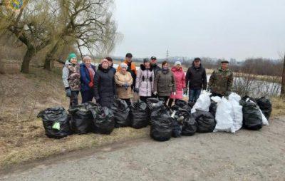 На Львівщині триває екологічний челендж #TrashTag