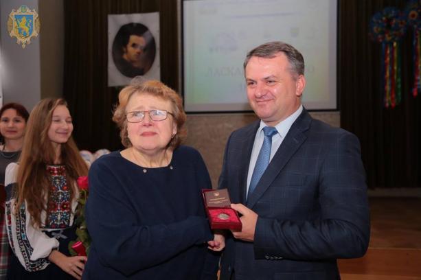 Софії Ілик присвоїли звання «Заслужений вчитель України»