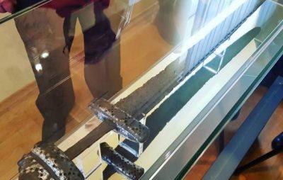 У Винниках експонують унікальний меч вікінга