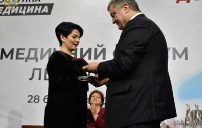 Порошенко вручив медикам Львівщини Державні нагороди
